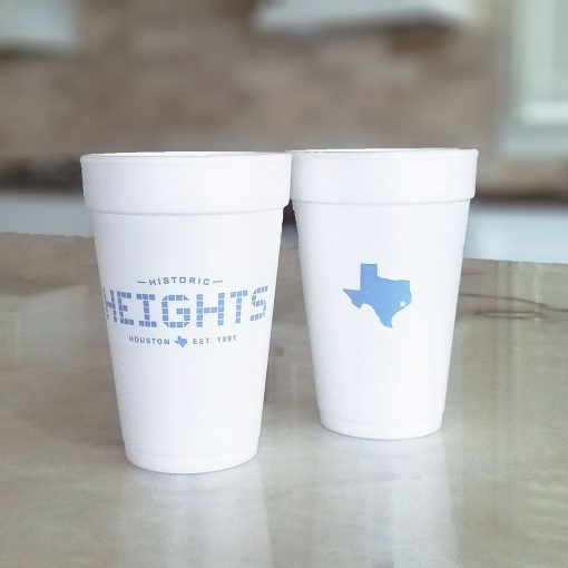 Heights Tile 16 oz. Foam Cup