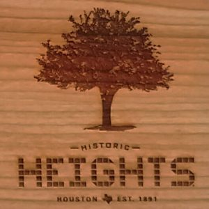 Houston Heights Tile - Tree Cutting Board