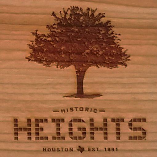 Houston Heights Tile - Tree Cutting Board