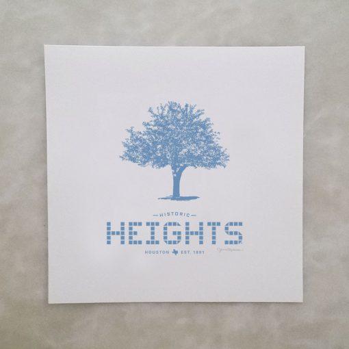 Heights Tile & Tree print