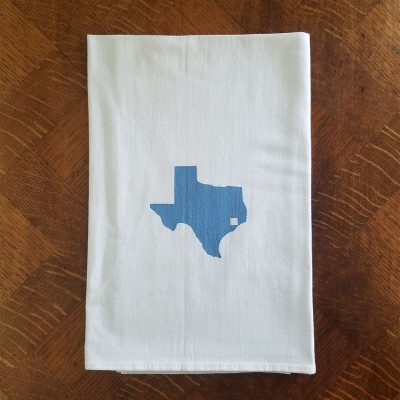 Texas Tile Flour Sack Kitchen Towel