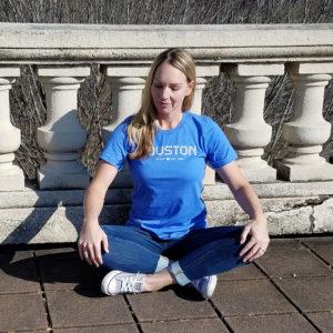 Houston Tile unisex t-shirt Columbia Blue
