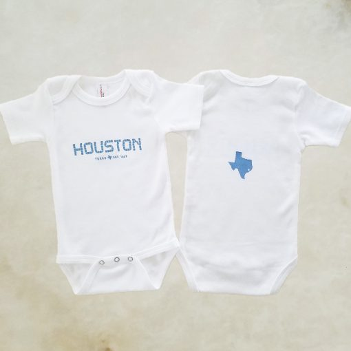Houston Tile onesie