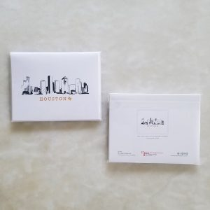 Note Cards - Houston Skyline pack