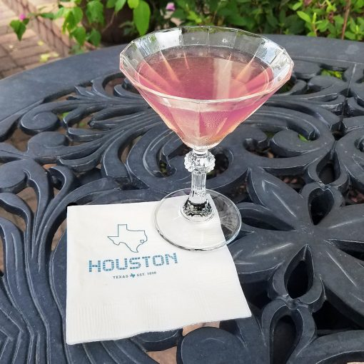 Houston Tile Beverage Napkins