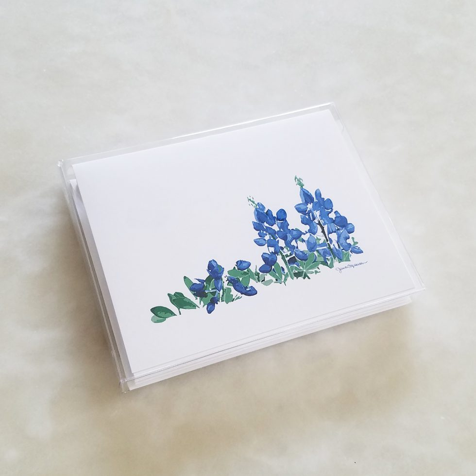 Note Card - Bonnets box