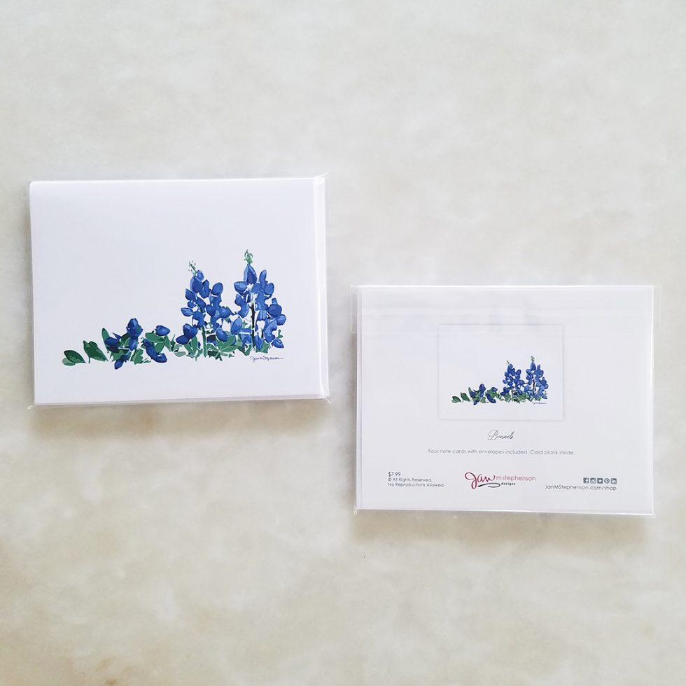 Note Card - Bonnets pack