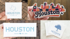 Hosuton Stickers
