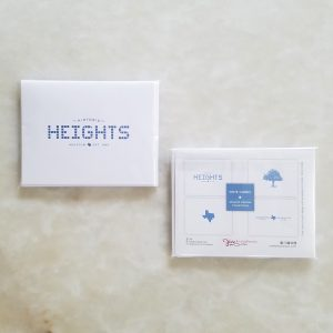 Note Cards - Heights Design Collection pack