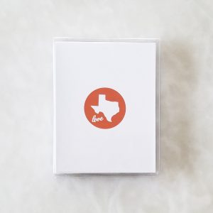 Note Cards - Texas Love orange box