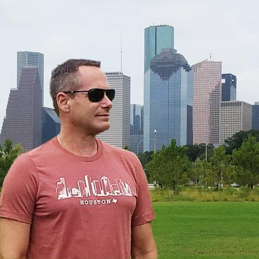 Houston Skyline Heather Clay