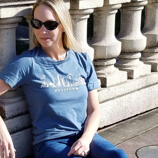 Houston Skyline Heather Slate
