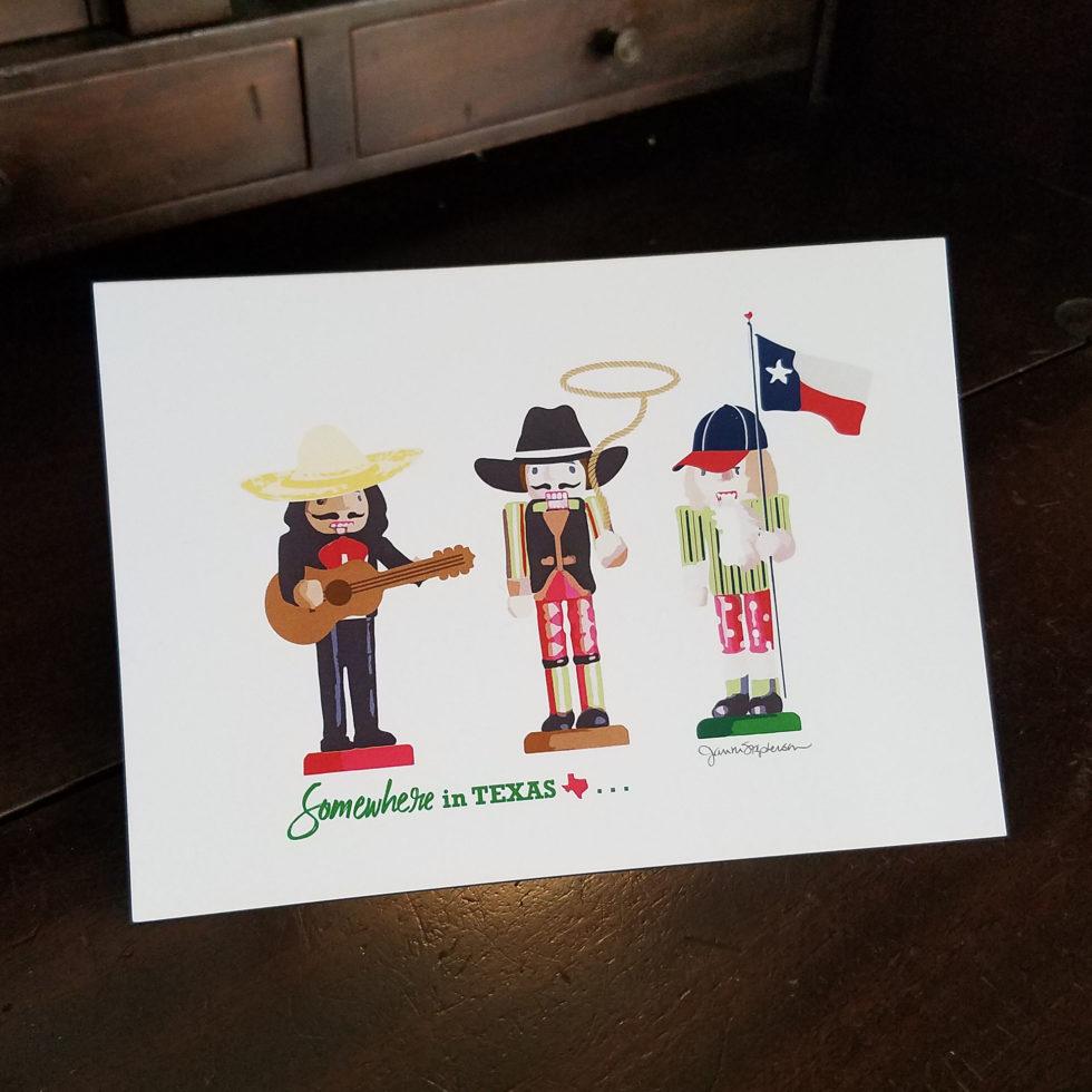 Texas Nutcrackers Holiday Card