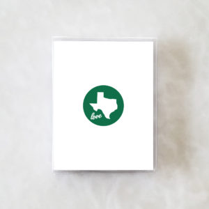 Note Cards - Texas Love green box