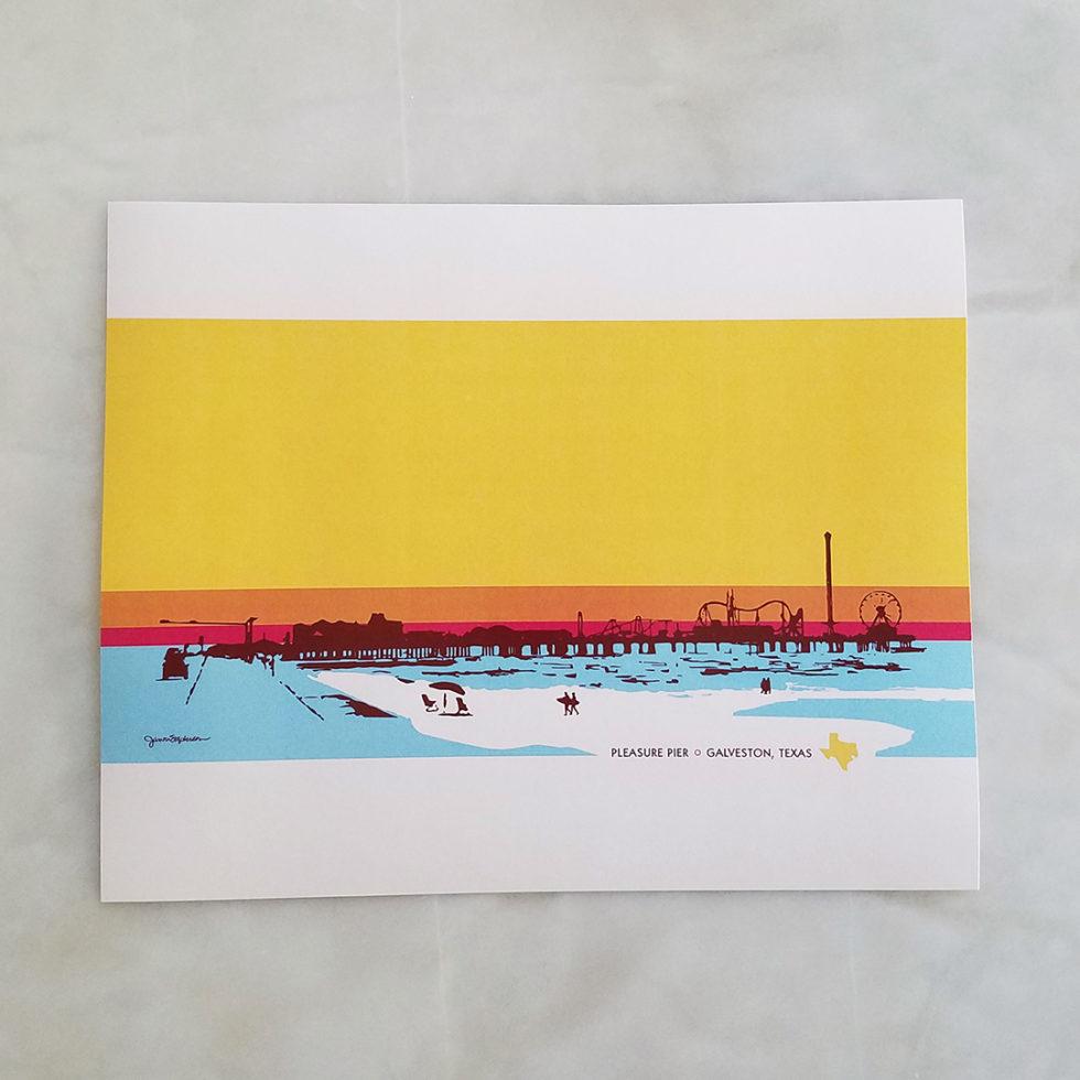 Pleasure Pier Surf Days 8 x10
