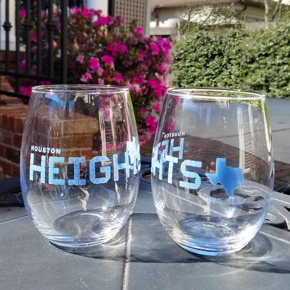 Heights Tile 17 oz. Stemless Wine Glass