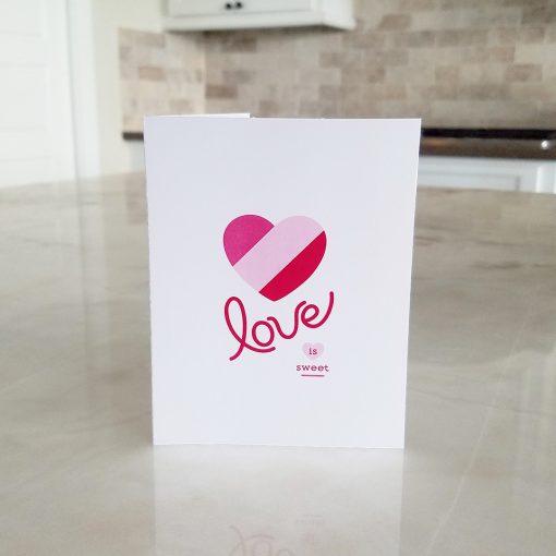 Love is Sweet note card