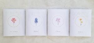 Wild Flower note cards