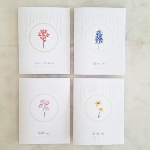 Wild Flower Note Cards
