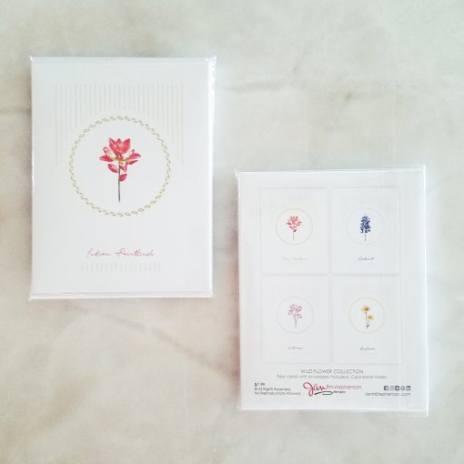 Wild Flowers Note Cards Pack