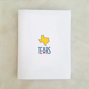 Texas Note Card