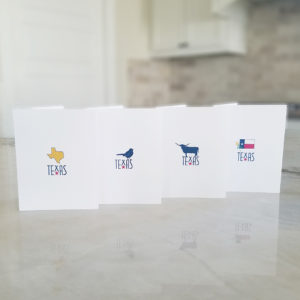 Symbols of Texas Note Cards