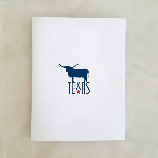 Texas Longhorn Note Card
