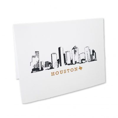 Note Cards, Houston Skyline