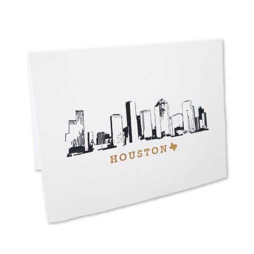 Note Cards, Houston Skyline