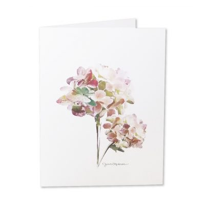 Note Cards - Hydrangeas