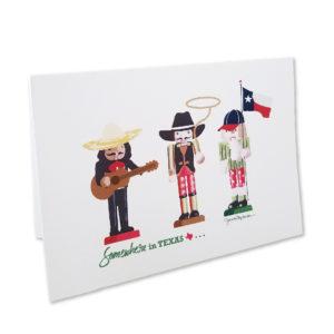 Greeting Card - Texas Nutcrackers