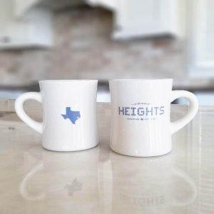 Diner Mug - Heights and Texas Tile